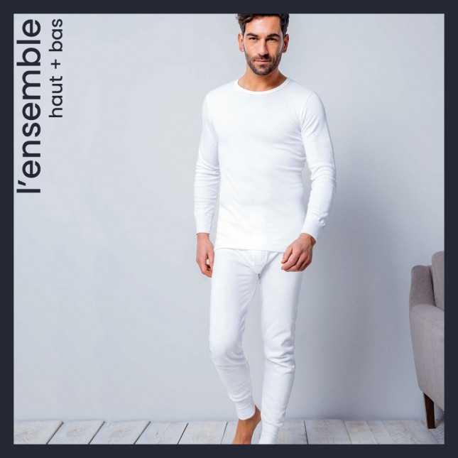 Ensemble ultra chaud - Tee-shirt manches longues + Caleçon long