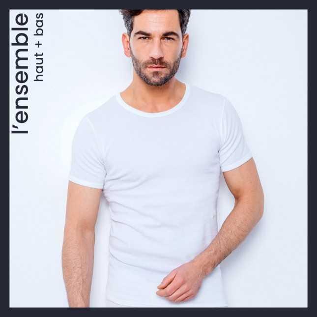 Ensemble Ultra chaud - Tee-shirt col rond + Caleçon long