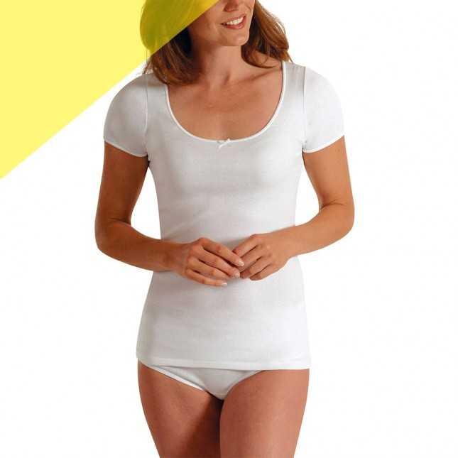 Tee-shirt manches courtes en coton bio