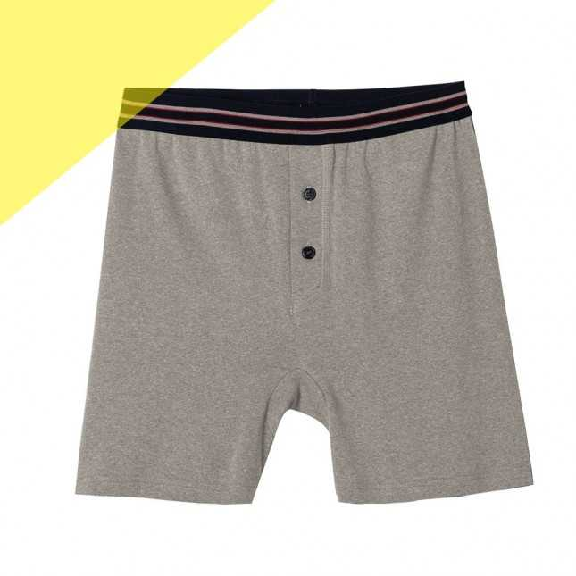 Boxer long - Shorty en coton