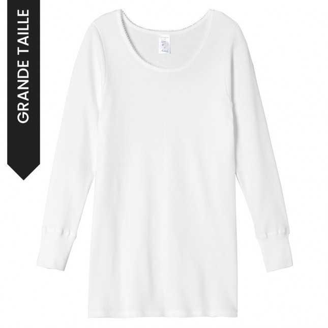 Tee-shirt à manches longues Femme | Grande taille Lemahieu