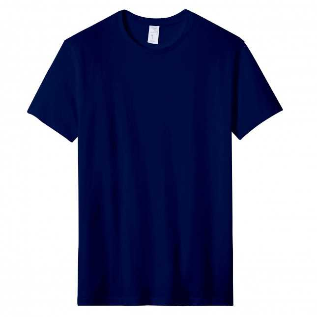 T-shirt Homme Made in France - L'Andrésien Marine | Lemahieu