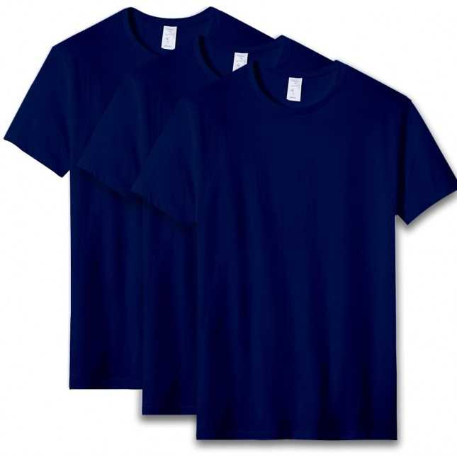 Pack 3 T-shirt Homme Made in France - L'Andrésien Marine   Lemahieu