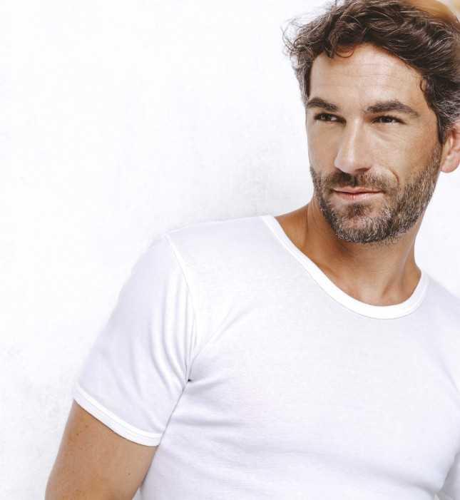 T-shirt Homme - Le Maillot V Vert lagon