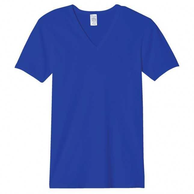 T-shirt Homme - Le Maillot V Bleu royal