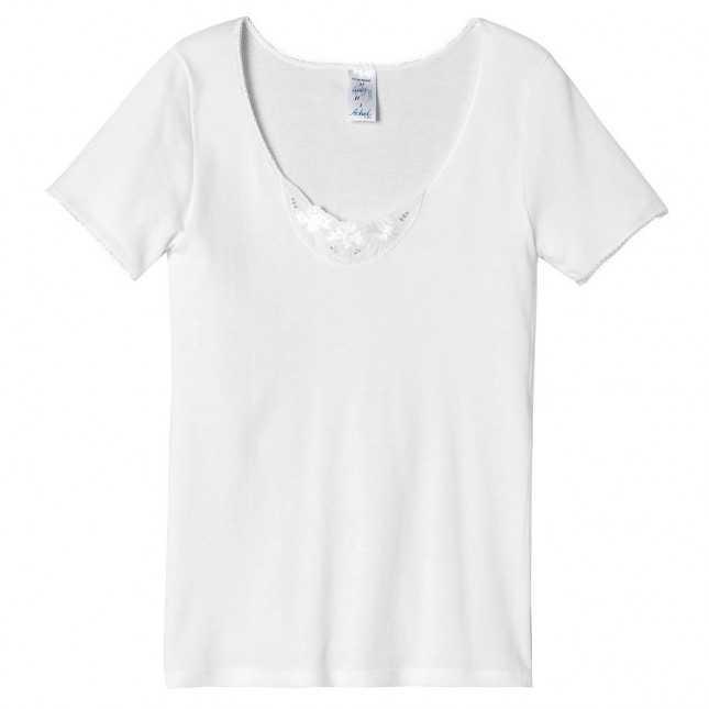 Tee-shirt en broderie anglaise   Lemahieu