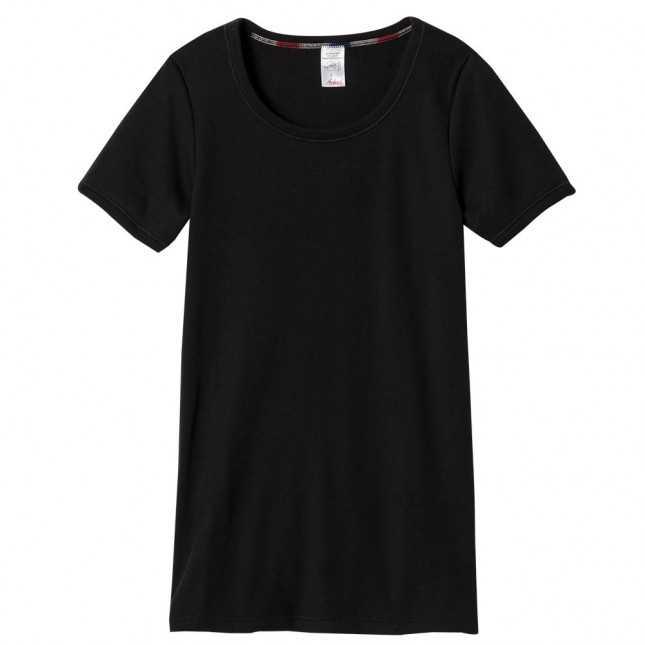 T-shirt thermique Femme - Noir | Lemahieu
