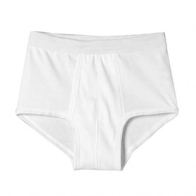 Slip à poche Homme avec ceinture large - Couleur - 100% Coton | Lemahieu