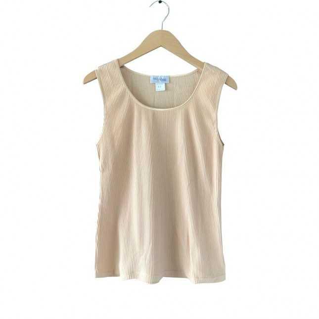T-shirt sans manche Femme - Beige | Lemahieu