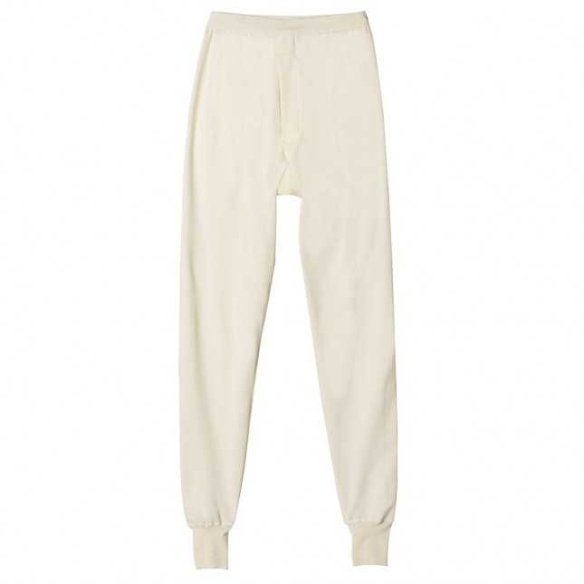 Legging thermique Homme – Interlock coton - Ecru | Lemahieu