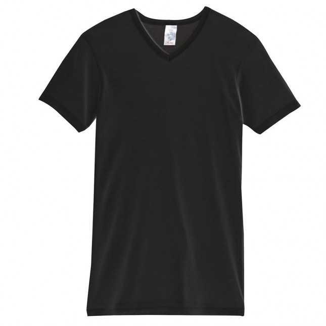 T-shirt thermique Homme - Noir | Lemahieu
