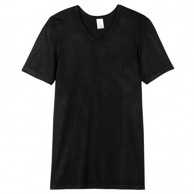 Tee-shirt col V ultra chaud Homme | Lemahieu