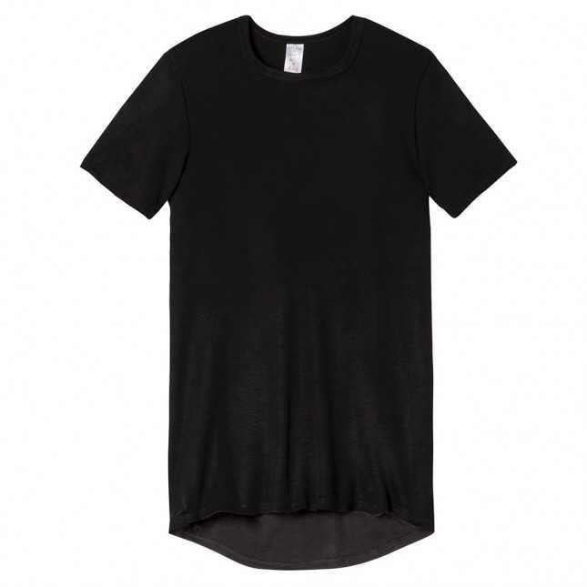 Tee-shirt col rond ultra chaud Homme - Dos long | Lemahieu
