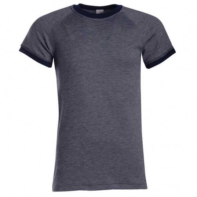 Tee-shirt manches courtes en interlock antimicrobien