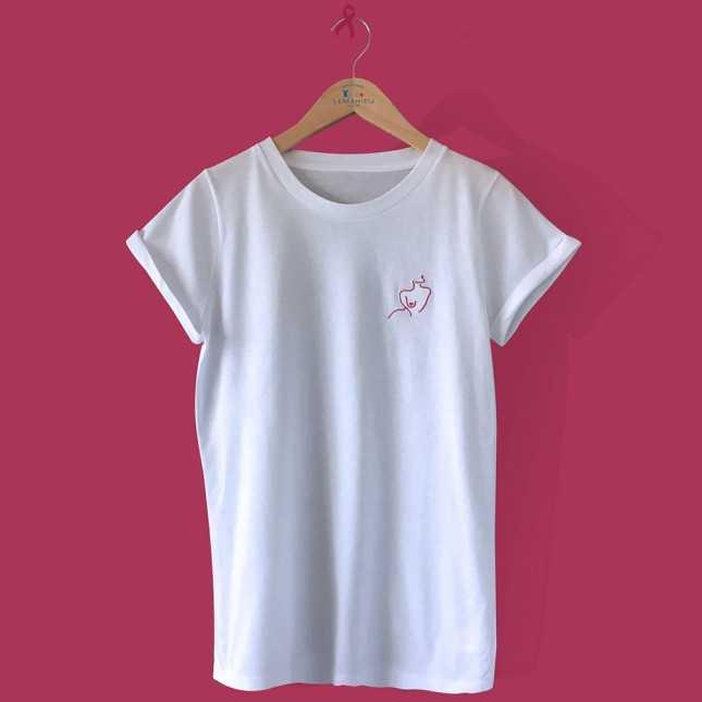 Tee-shirt manches courtes coton BIO  - Made in France | Lemahieu