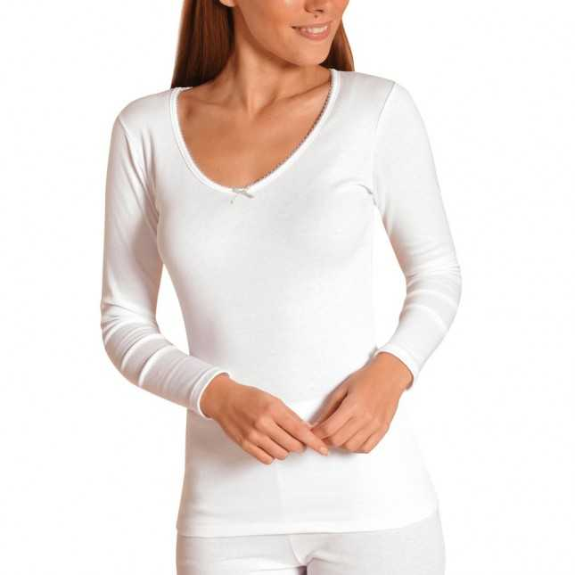 Tee-shirt manches longues hydratant Femme | Lemahieu