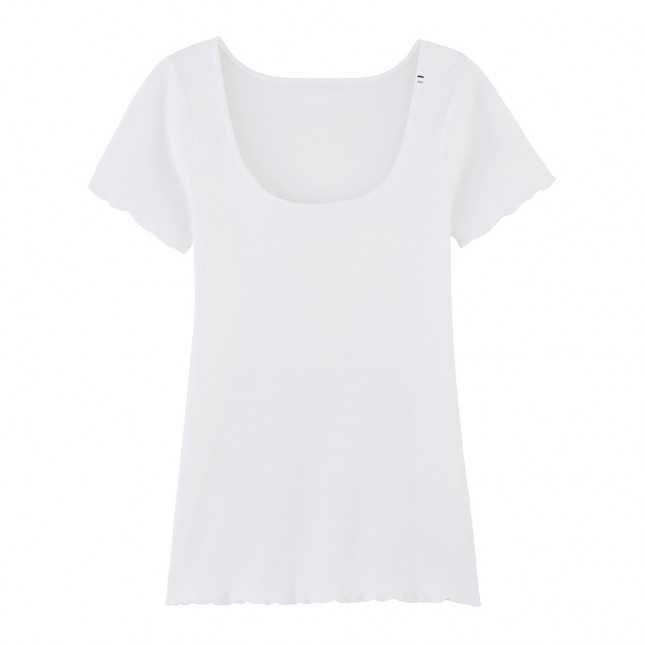 T-shirt Femme coton Bio - Blanc