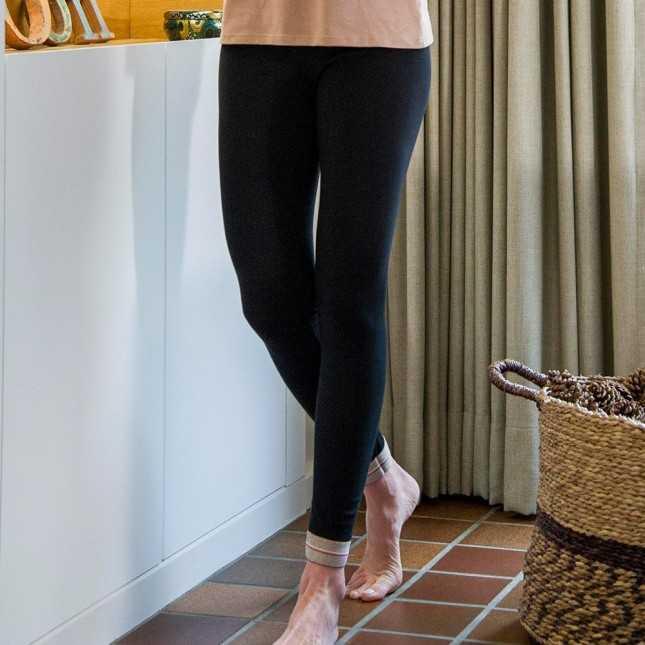 Legging coton Bio - Noir