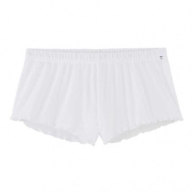 Short coton Bio - Blanc