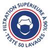 Lot de 3 Masques made in France en tissu lavable - Le Solidaire | Lemahieu