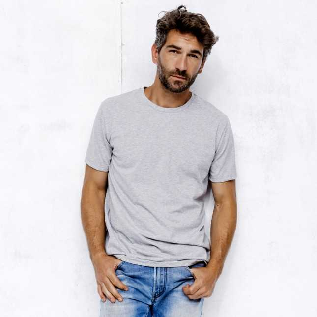 Le Jersey Gris - T-shirt Homme Made in France | Lemahieu
