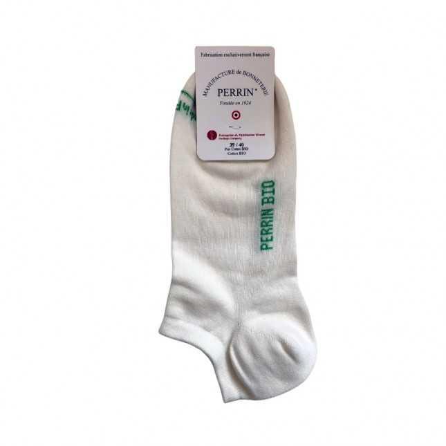 Socquettes Coton bio - blanc
