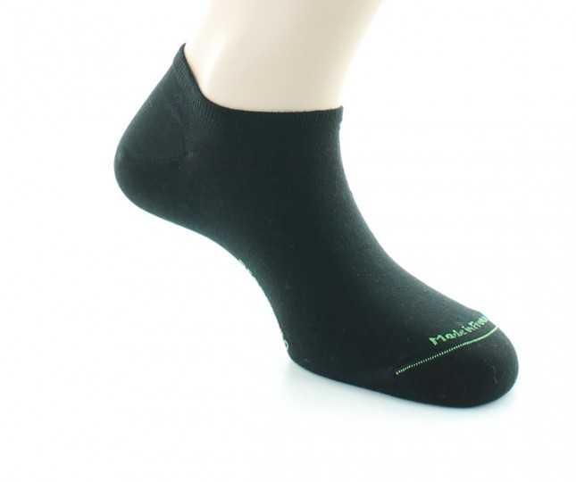 Socquettes Coton bio - noir