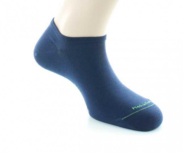 Socquettes Coton bio - marine