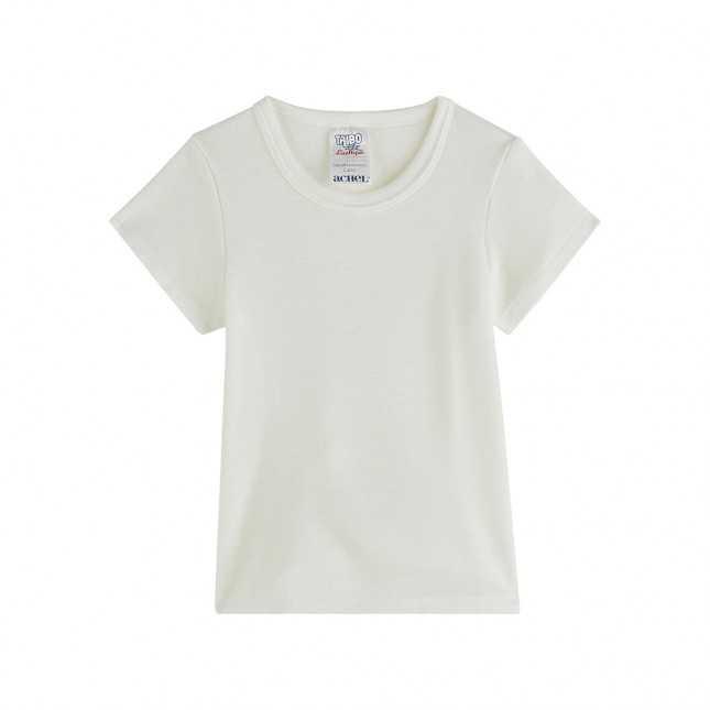 T-shirt manches courtes - Enfant - Blanc