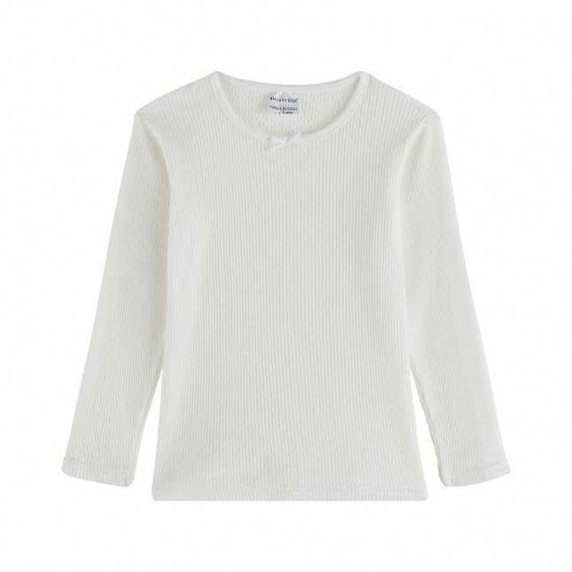 T-shirt thermique manches longues - Enfant - Blanc