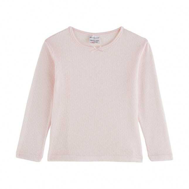 T-shirt thermique manches longues - Enfant - Rose