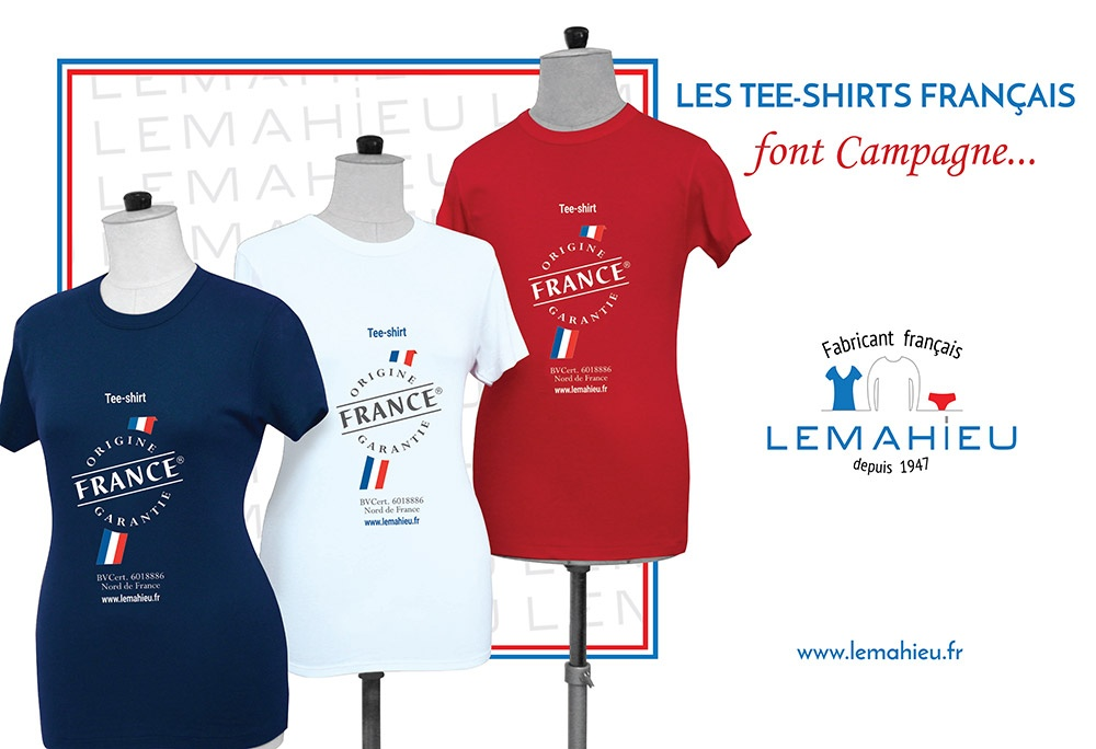 Tee-shirt font campagne