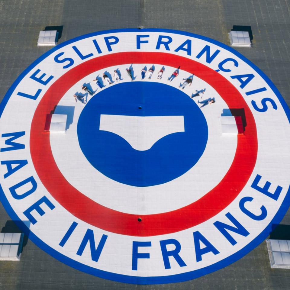 Le slip Français avec Lemahieu