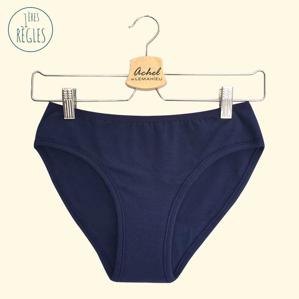 Culotte menstruelle adolescente Made in France